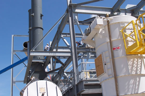 Badger State Ethanol Dust Collection System Design