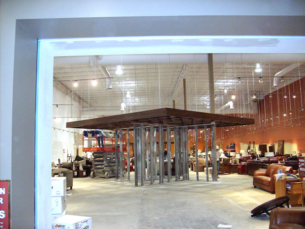Furniture Row Shopping Center Interior Painting Project Jcc Inc