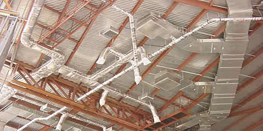 Peoria Civic Center HVAC Ductwork Fabrication and Installation