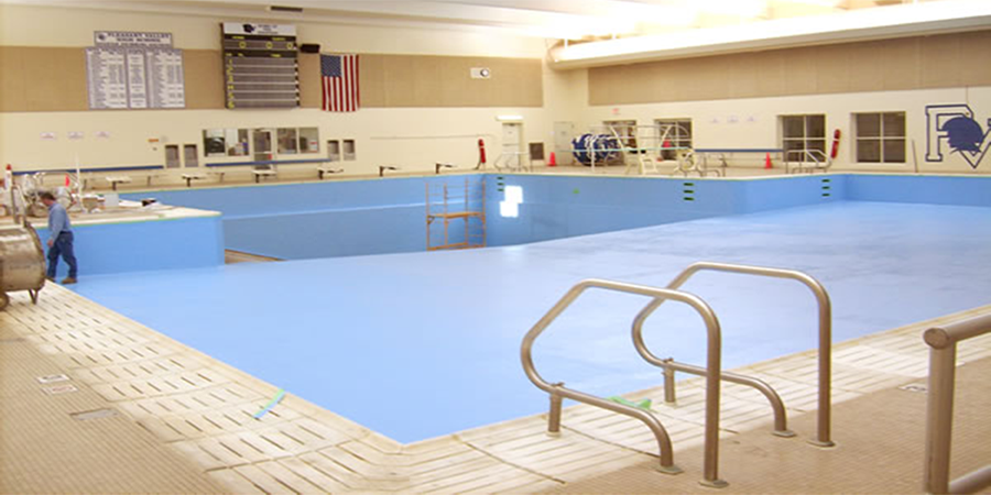 Pleasant Valley High School Swimming Pool Paint And Seal Project