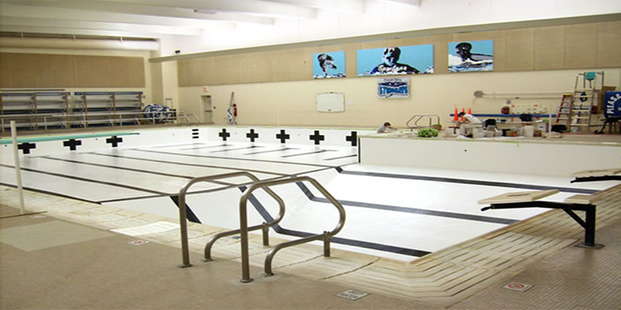 Beau Pleasant Valley High School Swimming Pool Paint And Seal Project   JCC Inc